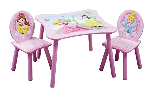 Delta Children Table & Chair Set, Disney Princess (Princess Table compare prices)