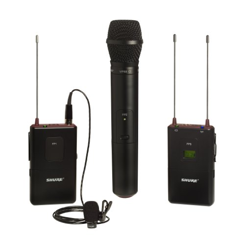 Shure Fp125/83Vp68 Combo Wireless System, H5