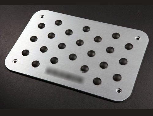aluminum-carpet-mat-automotive-foot-rest-plate-pedal-pad-fit-for-w163-ml320-ml430-ml500-brabus
