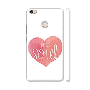 Colorpur Free Soul Artwork On Xiaomi Mi Max Cover (Designer Mobile Back Case) | Artist: Woodle Doodle