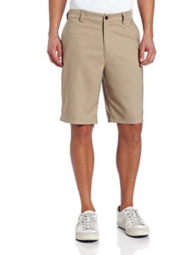 adidas Climalite Flat-Front Short Khaki