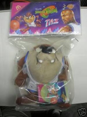 MCDONALDS SPACE JAM TAZ TUNE SQUAD WARNER BRO. by mcDonalds