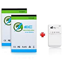 EC TECHNOLOGY 2X 1800mAh Li-ion Battery for Motorola Atrix 4G ME860/MB860 & 1X Multi-purpose USB Travel