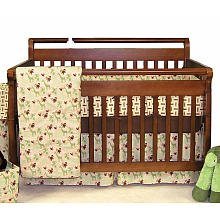 Trend Lab Jungle Jam 4 Piece Crib Bedding Set