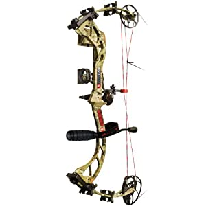 PSE Brute X RTS Package Left Hand Bow, 60-Pound, Mossy Oak Break Up Infinity by PSE