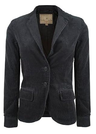 eight2nine cord blazer damen by urban surface casual blau bekleidung. Black Bedroom Furniture Sets. Home Design Ideas