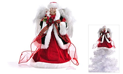 Angel UnLit Tree Toppers