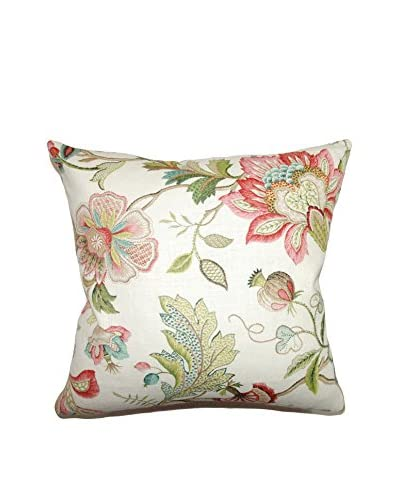 """The Pillow Collection 18"""" Rosa Pillow, Multi"""