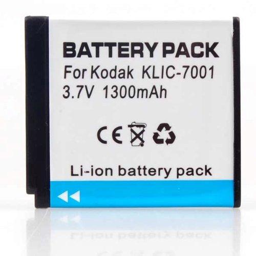 Kodak Kodak KLIC-7001/BenQ DLi-213 Replacement Lithium-Ion Battery (1000 mAh) camera