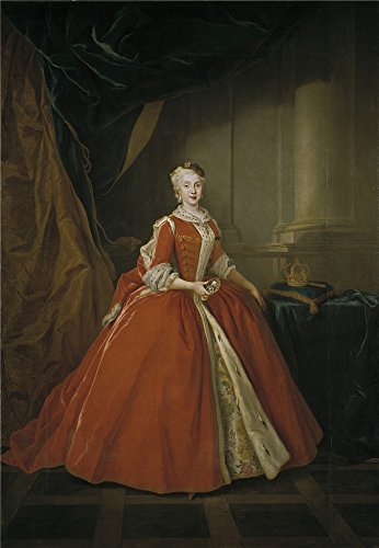 Oil Painting 'Silvestre Louis Maria Amalia De Sajonia Reina De Espana 1738', 10 x 14 inch / 25 x 37 cm , on High Definition HD canvas prints is for Gifts And Bed Room, Gym And Powder Room Decoration (Leopard Print Tea Kettle compare prices)