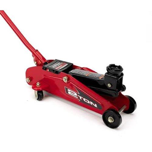 Best Cheap Powerbuilt 640181 Garage 2 Ton Trolley Jack For