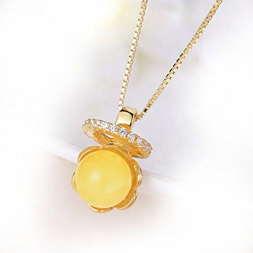 graceful-collier-avec-pendentif-ambre-argent-sterling-45-cm