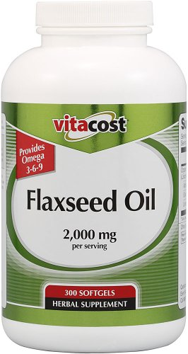 Vitacost Flaxseed Oil -- 2,000 mg per serving -
