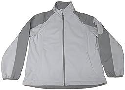 Avia Women\'s Lightweight Jacket, Size XL, Gray/Light Gray