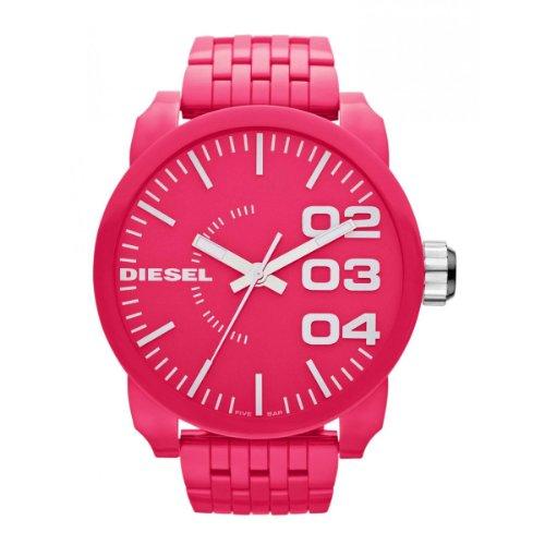 Diesel Herren-Armbanduhr XL Franchise Analog Quarz Plastik DZ1573