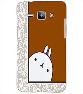 PrintDhaba Cartoon D-5489 Back Case Cover for SAMSUNG GALAXY J1 (Multi-Coloured)
