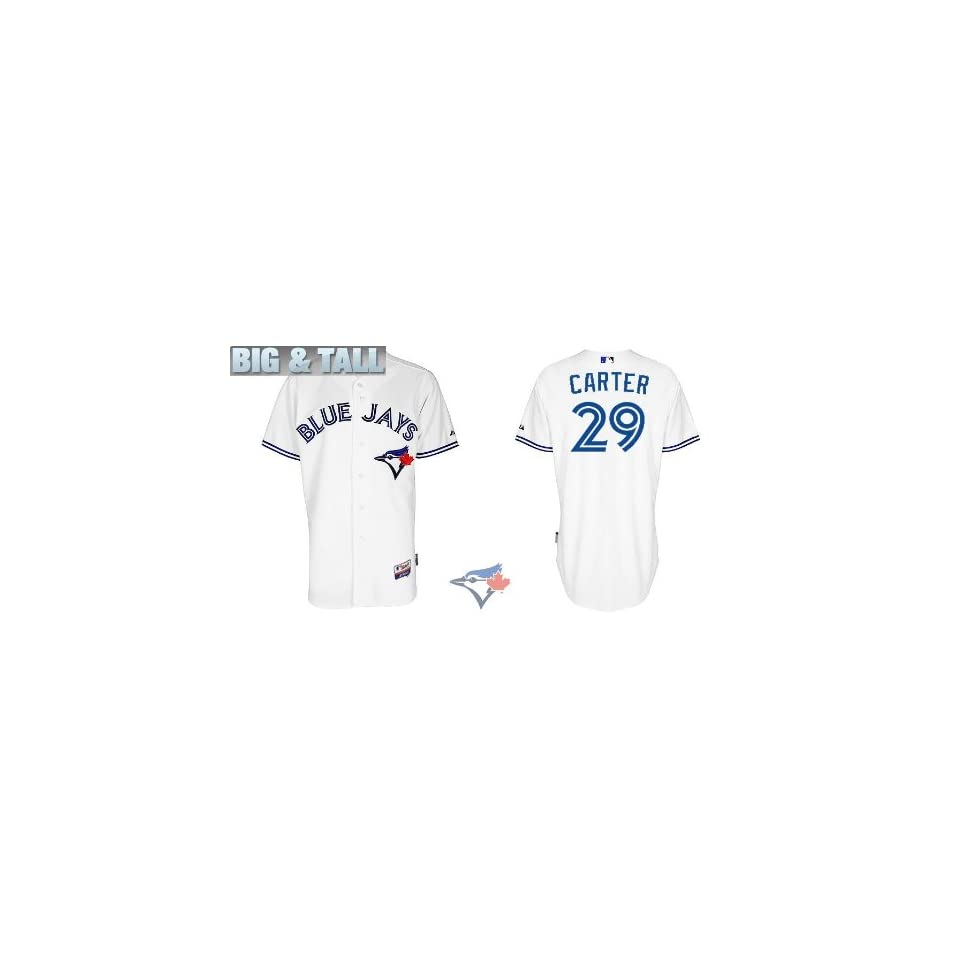 d1302f573 Big   Tall Gear 2012 Toronto Blue Jays Authentic MLB Jerseys  29 Joe Carter  WHITE Cool Base Jersey Size 60 5XL (ALL are sewn on and Stitched)