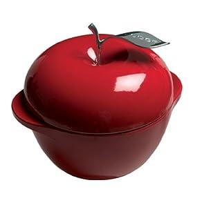 Lodge E3AP40 L Series 3-Quart Apple Pot (Patriot Red)