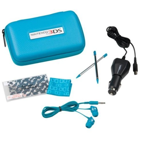 best deal  Nintendo 3ds Starter Kit Aqua Blue Here