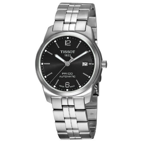 Tissot PR100 Automatic Black Dial Men's Watch T049.407.11.057.00