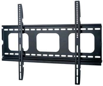 Centurion Supports Black PLB105M Universal Super Thin Fixed Wall Mount Bracket 32″ to 60″