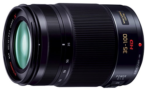 PANASONIC LUMIX G X Vario Lens, 35-100mm, F2.8 ASPH., Professional Mirrorless Micro Four Thirds, POWER Optical I.S., H-HS35100 (USA BLACK) (Panasonic Lumix Lens compare prices)