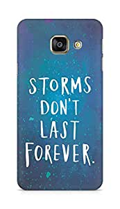 AMEZ storms dont last forever Back Cover For Samsung Galaxy A3 (2016 EDITION)