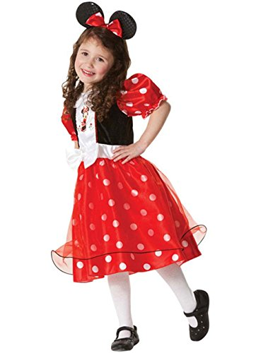 DoLoveY Children's Halloween Costumes Girls Mickey Dress Size L