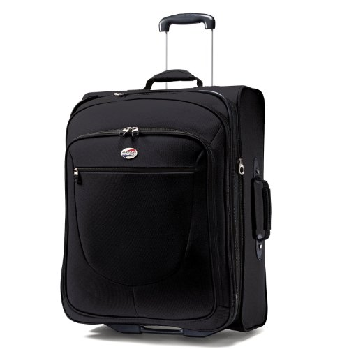 American Tourister Luggage Splash 29 Upright Suitcase, Black, 29 Inch