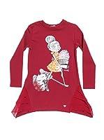 Fracomina Mini Vestido (Rojo)
