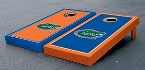 Florida UF Gators Cornhole Game Set Alt Border Gator Version Corn Hole by Gameday Cornhole