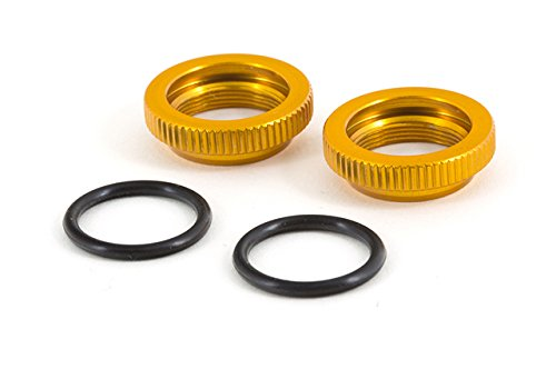 Team Durango TD330633 Shock Collars Aluminum Gold (2) - 1