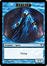 Magic: The Gathering - Spirit Creature Token - Avacyn Restored