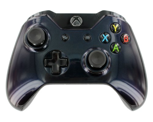"""Enigma Midnight Blue"" Xbox One Custom Unmodded Controller"