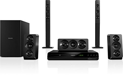 Philips HTD5540/12 Dolby Digital 1000W Full HD 1080p DVD Home Cinema System