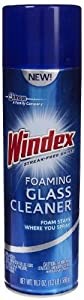 Windex Foaming Glass Cleaner, 19.7 Oz (Pack of 4)