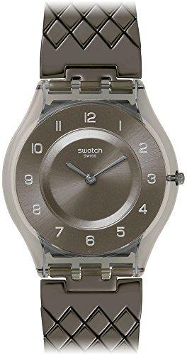 Swatch SFM132GB - Orologio da polso da donna, cinturino in acciaio inox