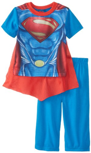 Superman Boys 2-7 Toddler Costume Pajama Set