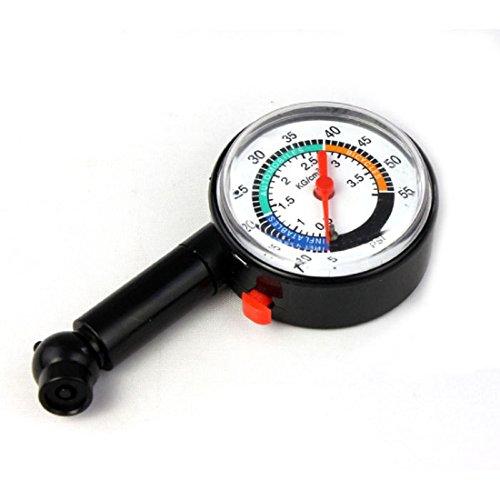 Iuhan® New Auto Motor Car Truck Bike Tyre Tire Air Pressure Gauge Dial Meter Vehicle Tester (110 Psi Dial Tire Pressure Gauge compare prices)