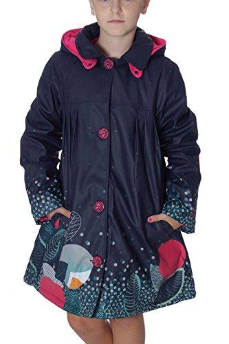 CATIMINI CI42063-48-8A - Pop Navy Floral Raincoat giacca impermeabile bimba 8 anni