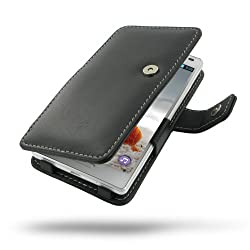 LG OptimusL9 Leather Case - P760 P765 P768 - Book Type (Black) by Pdair