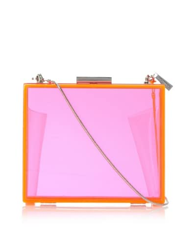 CC Skye Women's Sunset Boulevard Clutch, Neon Pink As You See