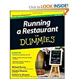 img - for Running a Restaurant For Dummies (For Dummies (Business & Personal Finance)) book / textbook / text book