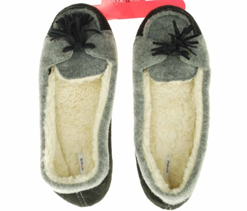 Image of Style & Co Moccasin Slipper (B004X29NQS)