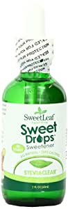 SteviaClear Liquid Stevia Extract, 2-Ounce Bottles (Pack of 2)