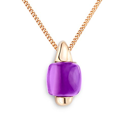 miore-womens-amethyst-half-bezel-pendant-on-45-cm-chain-9-ct-rose-gold-necklace