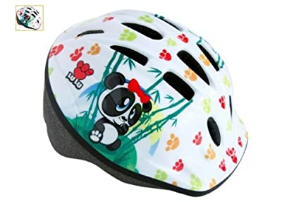 Apollo LuLu Girls Bike Helmet (48-52cm)---Panda Figure by Apollo