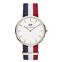 Daniel Wellington Men's Quartz Watch Classic Cambridge 0103DW with Plastic Strap