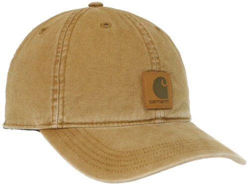 Carhartt, Cappellino con visiera, modello Odessa, Marrone, 211, 100289