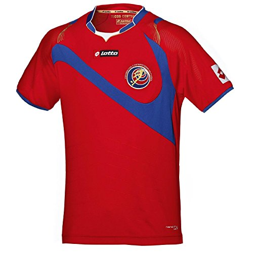 Lotto Costa Rica Home Jersey Youth Red 2014